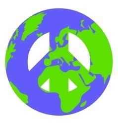 Conceptual pacific sign vector
