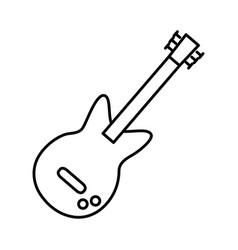 guitar icon image vector image vector image