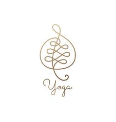 logo leave vector image