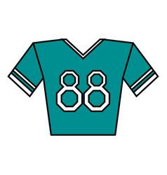 Sports uniform vector