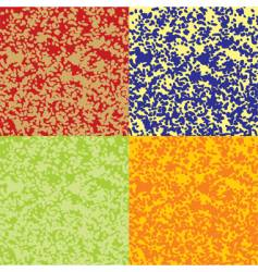color textures vector image