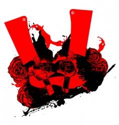 maniac love vector image