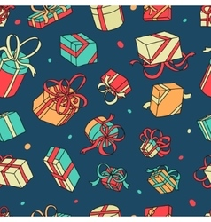 Pattern gifts vector