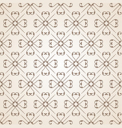 cream color ornamental swirl background with sand vector image