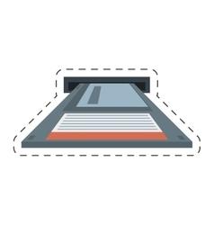 Floppy diskette storage computer vector