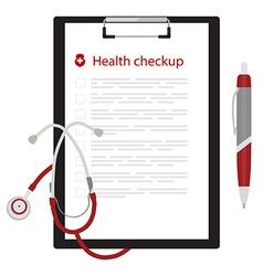Health ckeckup concept vector