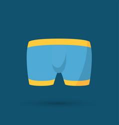 Mens underwear in front vector