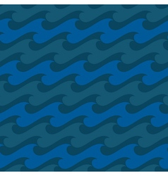 Water seamless pattern 1 vector image vector image