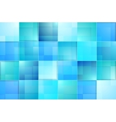 Abstract bright blue tech background vector