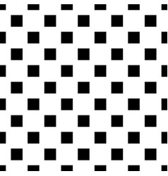 Black and white seamless geometrical square vector