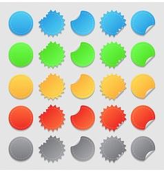 Design elements labels vector image vector image