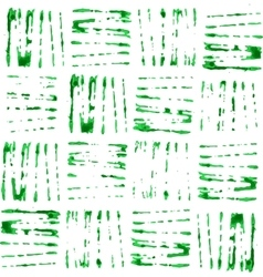 Seamless eco green pattern vector image