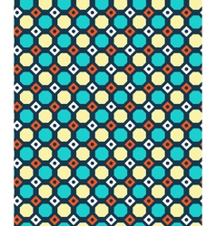 Seamless geometric bright abstract pattern vector