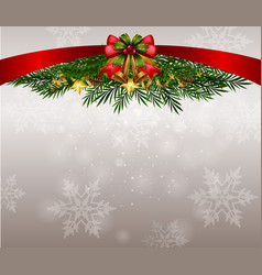 Background theme with snowflakes on christmas vector