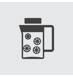 Decanter icon vector