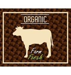 Farm fresh organic product vector