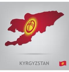 kyrgyzstan vector image