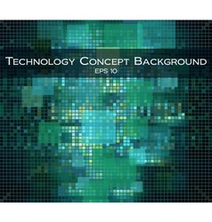 technology and Hi-teck background vector image