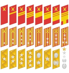 Insignia of the army of korea vector