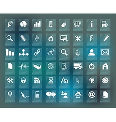 Quality icon Set vector image