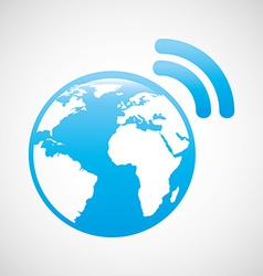 Internet connection vector
