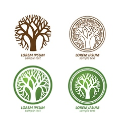 Tree logo2 vector