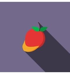 Mango icon flat style vector