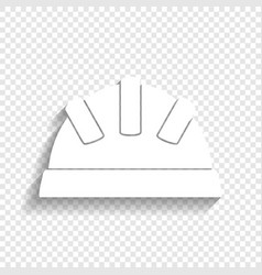 Baby sign white icon with vector