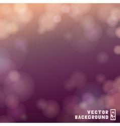 Bokeh background vector