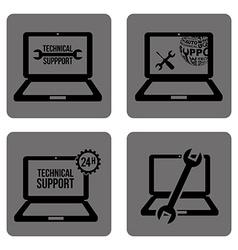 Computer support vector