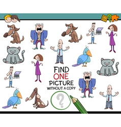 kindergarten game for kids vector image vector image