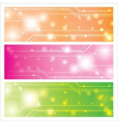 Sweet technology background vector