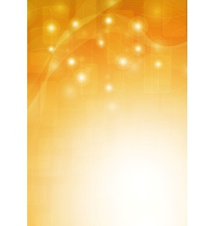 Orange background vector