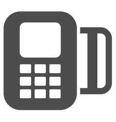 Card terminal icon vector