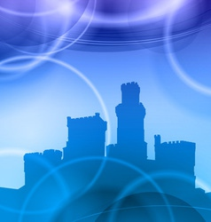 castle heaven vector image
