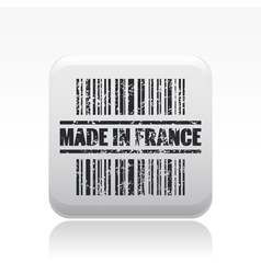 made in france icon vector image vector image