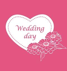 cinia wedding2 vector image vector image