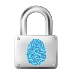 Fingerprint lock vector