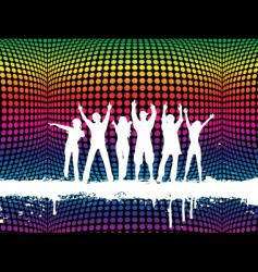 funky party vector image vector image