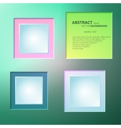 Abstract background of color boxes template for a vector