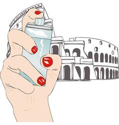 Perfume of Rome vector image