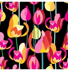 Seamless pattern with beautiful multi-colored vector