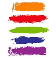 Color Blots vector image vector image