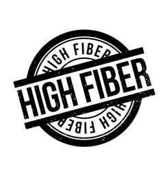 High fiber rubber stamp vector