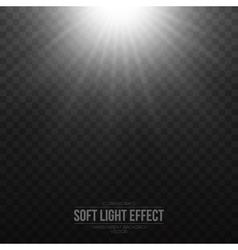 Soft light effect background vector