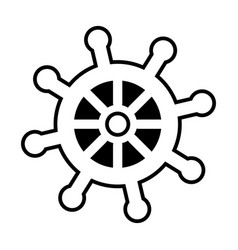 Ship timon isolated icon vector