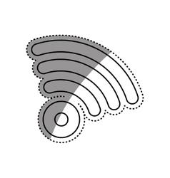 Wifi zone symbol vector