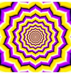 Abstract hypnotic optical vector