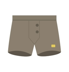 Male panties underwear vector