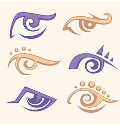 Eye collection vector